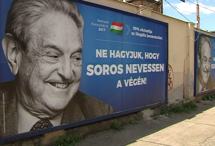 Image result for orban soros