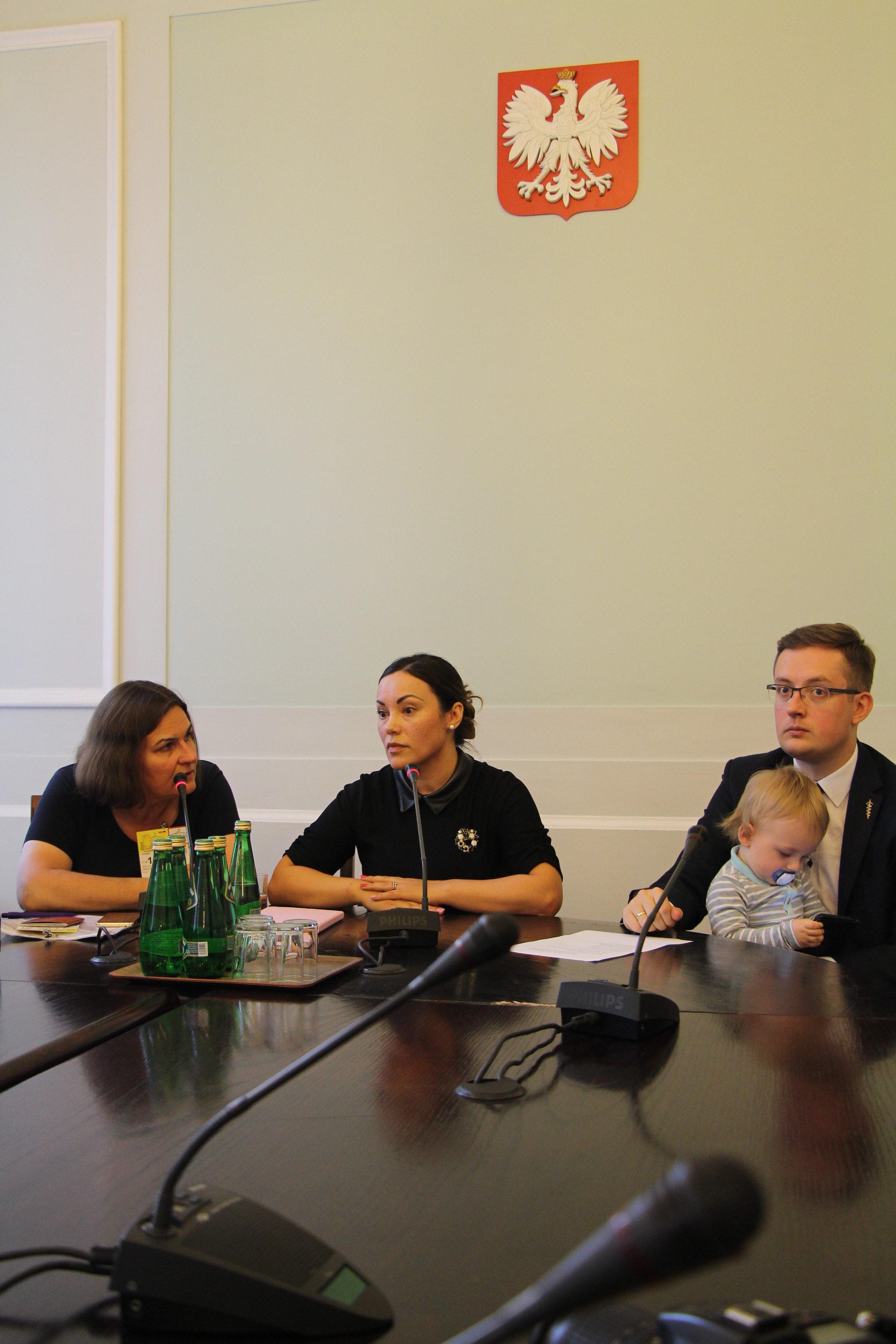 Polish parliamentarians met Silje Garmo, the Norwegian ...  Polish parliame...