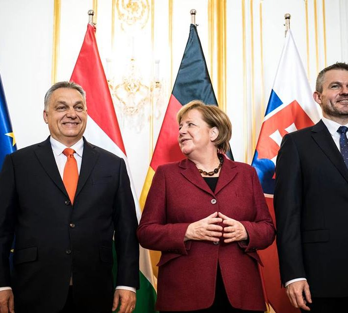 Immigration Merkel Finally Agrees With The Visegrad Group