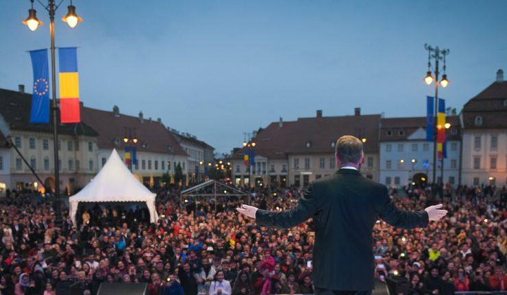 Photo : Page facebook officielle de Klaus Iohannis